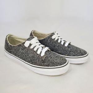 Vans Camden Gray Stripe Marled Knit Sneaker
